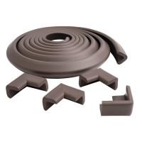 Prince Lionheart edgeGUARD asztalélvédő + 4db sarokvédő - csokibarna