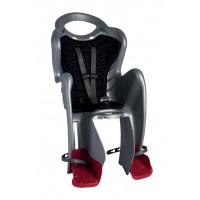 Bellelli Mr Fox Relax B-Fix bicikliülés 22kg-ig - Silver