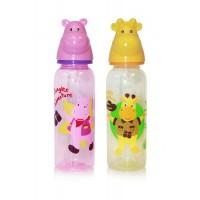 Baby Care Cumisüveg 250 ml BPA mentes - állatfejes