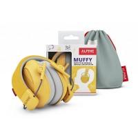 Alpine Muffy - gyerek hallásvédő fültok - sárga