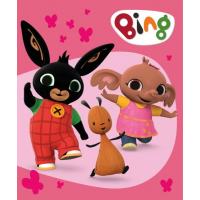 Bing polár takaró - rózsaszín