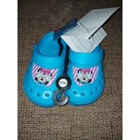 Minnie gyerek papucs clog- kék