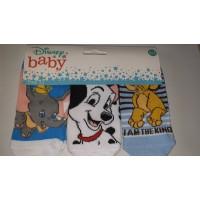 Disney baby zokni 3db-os csomag