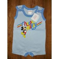 "Disney Mickey ""Choose Happy"" feliratos ujjatlan baba napozó"