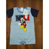 """Disney """"MM"""" Mickey rövid ujjú baba napozó"""