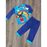 Bing gyerek hosszú pizsama - sötét