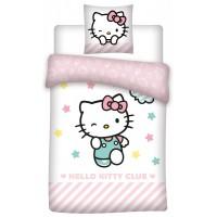 Hello kitty cicás Ágyneműhuzat 140×200cm, 70×90 cm