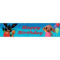 Bing Hologrammos Happy Birthday felirat 270 cm