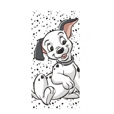 Disney 101 kiskutya fürdőlepedő, strand törölköző
