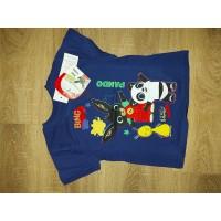 Bing, Pando és Flop mintás gyerek rövid póló