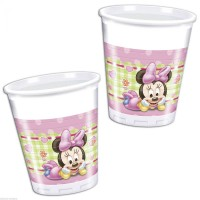 Disney Baby Minnie Műanyag pohár 8 db-os 200 ml