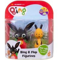 Bing és barátai 2 db műanyag (Bing, Flop)