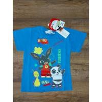 BING fiú rövid ujjú póló - kék