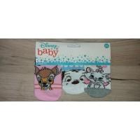 Disney 3db-os baba zokni (Bambi, 101 kiskutya, Marie cica)