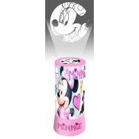 Disney Minnie 2 az 1-ben kivetítő, lámpa, éjszakai fény