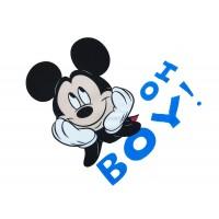 Disney Mickey textil tetra pelenka 70x70cm