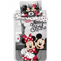 Disney Minnie és Mickey ágyneműhuzat New York