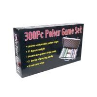 Alu bőröndös póker szett 300db zsetonnal 9153-300