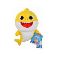 Baby Shark plüss figura, 25 cm, 3 szín BS45311