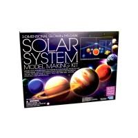 3D Foszforeszkáló nagy Naprendszer készlet 05520