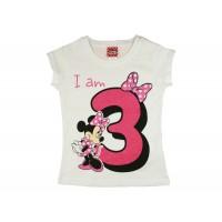 Disney Minnie szülinapos kislány póló 3 éves