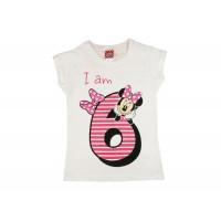 Disney Minnie szülinapos kislány póló 6 éves