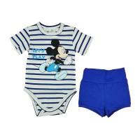 2 részes baba szett Mickey egér mintával