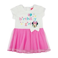 Disney Minnie szülinapos| tüllös rövid ujjú ruha