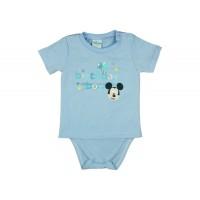 Disney Mickey szülinapos rövid ujjú pólós kombidressz kék