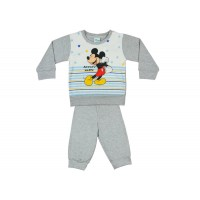 Disney Mickey fiú pizsama csillaggal  csíkkal