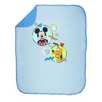 Disney Mickey és Plútó pamut babatakaró