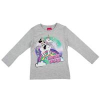 Hosszú ujjú kislány póló Minnie egér mintával