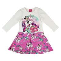 Disney Minnie és unikornis  hosszú ujjú lányka ruha