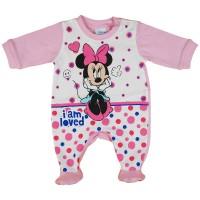 Disney I am loved Minnie hosszú ujjú rugdalózó