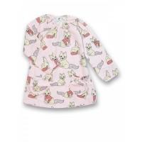 JNY organikus pamut kislány ruha - róka