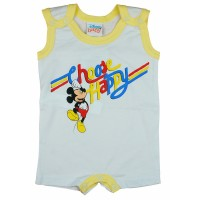 Disney Mickey Choose Happy feliratos ujjatlan baba napozó