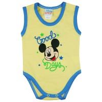 Disney Mickey  Good Days ujjatlan baba body sárga