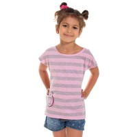 Mini&Me kislány rövid ujjú póló Avokádó mintával