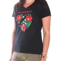 Kalocsai mintás női póló