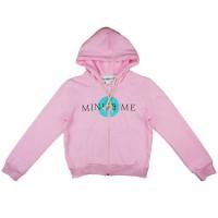 Mini&Me cipzáras kapucnis pulóver