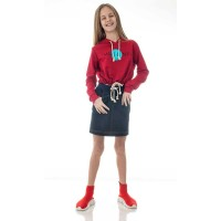 Mini&Me kapucnis lányka pulóver