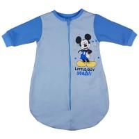 Disney Mickey hosszú ujjú, belül bolyhos hálózsák 2,5 TOG
