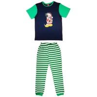 Disney Mickey karácsonyi férfi pizsama