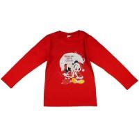 Disney Mickey és Minnie karácsonyi feliratos lányka póló