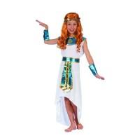 Kleopátra, egyiptom királynője gyerek jelmez - 130-140 cm