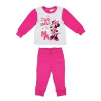 2 részes kislány pamut pizsama Minnie egér mintával