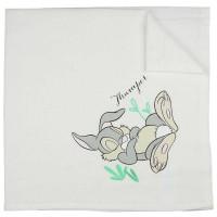 Textil tetra pelenka Thumper nyuszi mintával 70x70cm