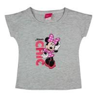 Ejtett válú kislány póló Minnie egér mintával
