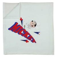 Baba textil tetra pelenka Mickey egér mintával 70x70cm