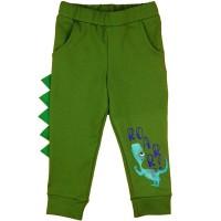 Baba fiú szabadidő nadrág dinós mintával